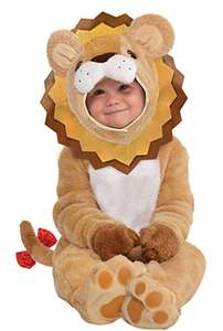 amscan 10132315 Baby Lion Costume with Detachable Hoodie-Age 12-24 Months £10.68 (Prime) + £4.49 (non Prime) at Amazon