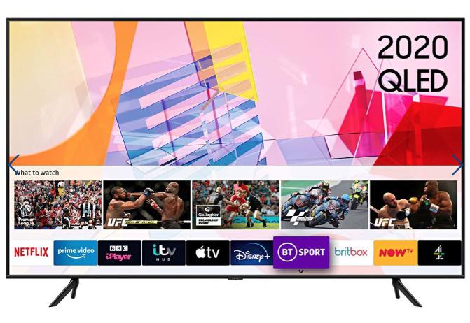 "Samsung QE55Q60TA 55"" Smart 4K TV - 6-year Warranty / 10-year Screen Burn Warranty £599 at Crampton & Moore"