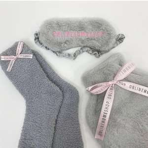 Faux Fur Socks, Hotwater Bottle Cover and Eye Mask - Just Pay £2.95 Postage (UK Mainland) @ Online Home Shop