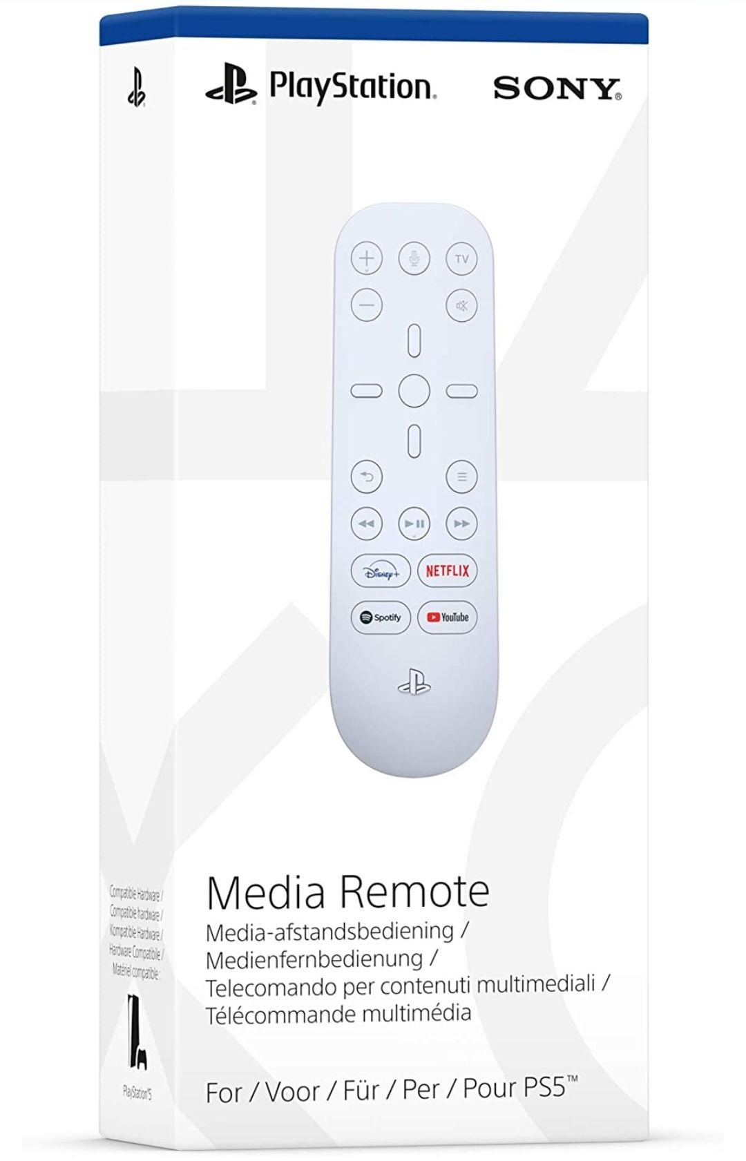 PS5 Media Remote £21 at Tesco Cambridge