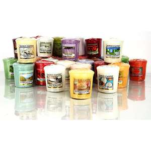 1 x Official Yankee Classic Votive Mini Sampler 49g Candle or 1 x WoodWick Highly Fragranced 22.7g Wax Melt - £1 delivered @ Yankee Bundles