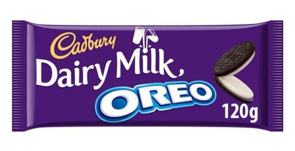 2x 120g Cadbury Dairy Milk Oreo £1 @ Farmfoods