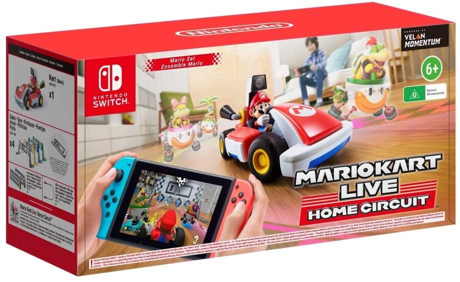 Mario Kart Live: Home Circuit - Mario (Nintendo Switch) - £54.81 // Luigi - £56.67 Delivered @ Amazon