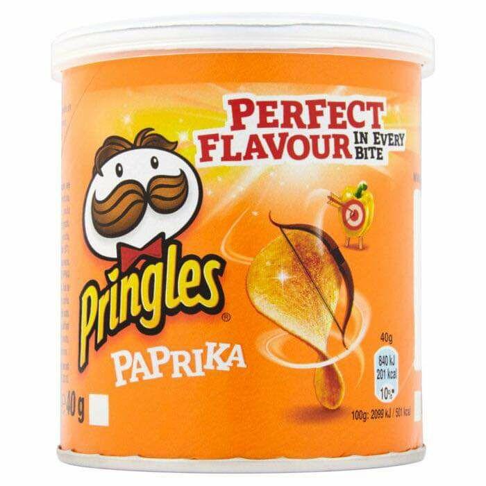 4 x 40g Pringles Paprika are £1 @ Farmfoods