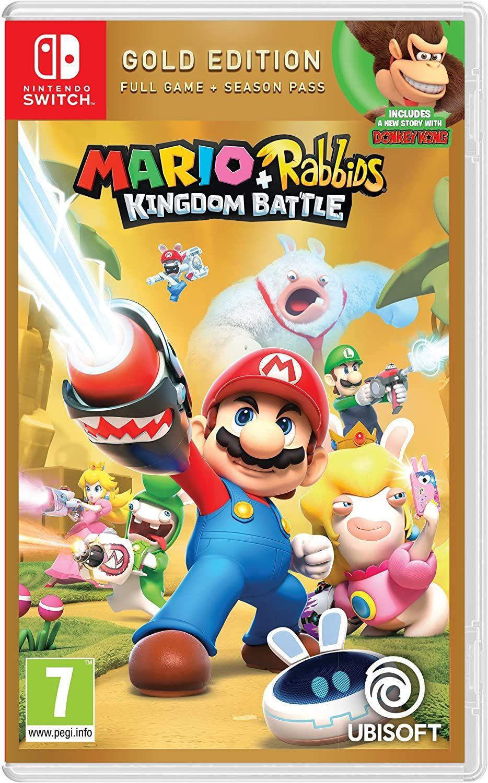 [Nintendo Switch] Mario + Rabbids Kingdom Battle Gold Edition - £20.85 delivered @ Base