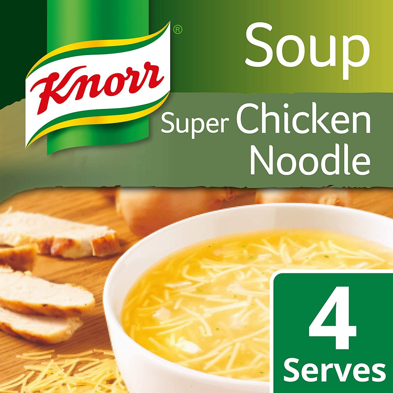 Knorr Super Chicken Noodle Soup (12 x 51 g) £4.29 / +£4.49 (non-prime) / £3.66 S&S @ Amazon