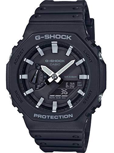 GA-2100-1AER G-Shock Carbon Core Octagon Series Watch -Black £70.37 (UK Mainland) Sold by Amazon EU @ Amazon