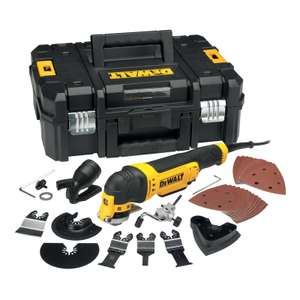 DeWalt DWE315KT-GB Multi Cutter 240V + 37 Pieces £129.99 (Collection Only - Selected Stores) @ Toolstation
