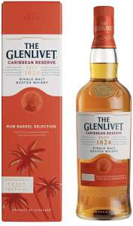 The Glenlivet Caribbean Reserve Single Malt Whisky 70 cl (Rum Barrel Selection) £26 @ Amazon