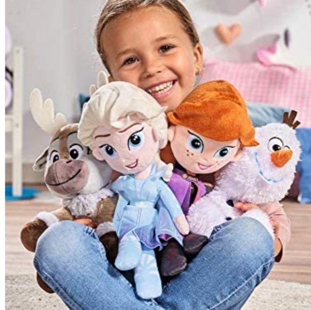 Big Frozen Elsa plush doll £5.15 + £4.49 NP @ Amazon