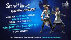 Sea Of Thieves Twitch Drops 7th-12th May - Gilded Phoenix Set