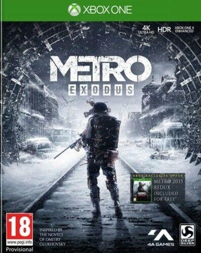 Metro Exodus (Xbox One) Used - £7.84 @ Musicmagpie / ebay