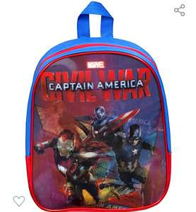 Captain America kids backpack £3.44 delivered @ Dispatched from and sold by LINEN IDEAS at Amazon