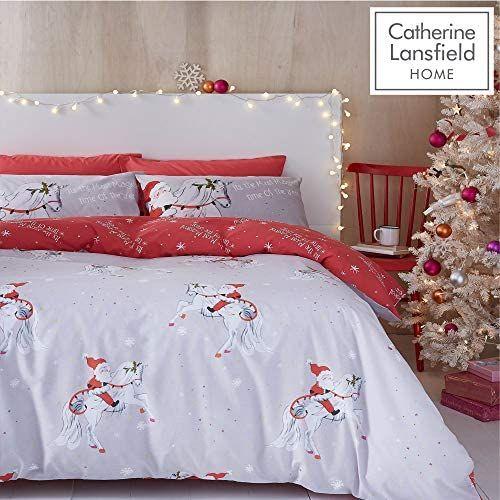 Christmas Unicorn Double Duvet Set £7.98 + £4.49 NP @ Amazon