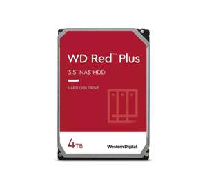"WD 4TB Red Plus (CMR) NAS Hard Drive 3.5"" SATA 6Gb/s 5400 RPM 128MB Cache £95.99 @ Box"