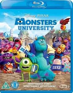 Monsters University blu ray £3.09 New Delivered @ Music Magpie