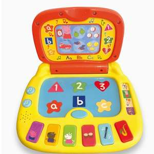 Peppa Pig PP02 Laugh and Learn Laptop Electronic Toy £7.91 + £4.49 Non Prime @ Amazon