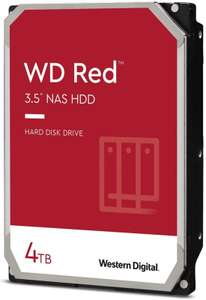 "WD 4TB Red Plus (CMR) NAS Hard Drive 3.5"" SATA 6Gb/s 5400 RPM 128MB Cache £93.48 delivered @ Ebuyer"