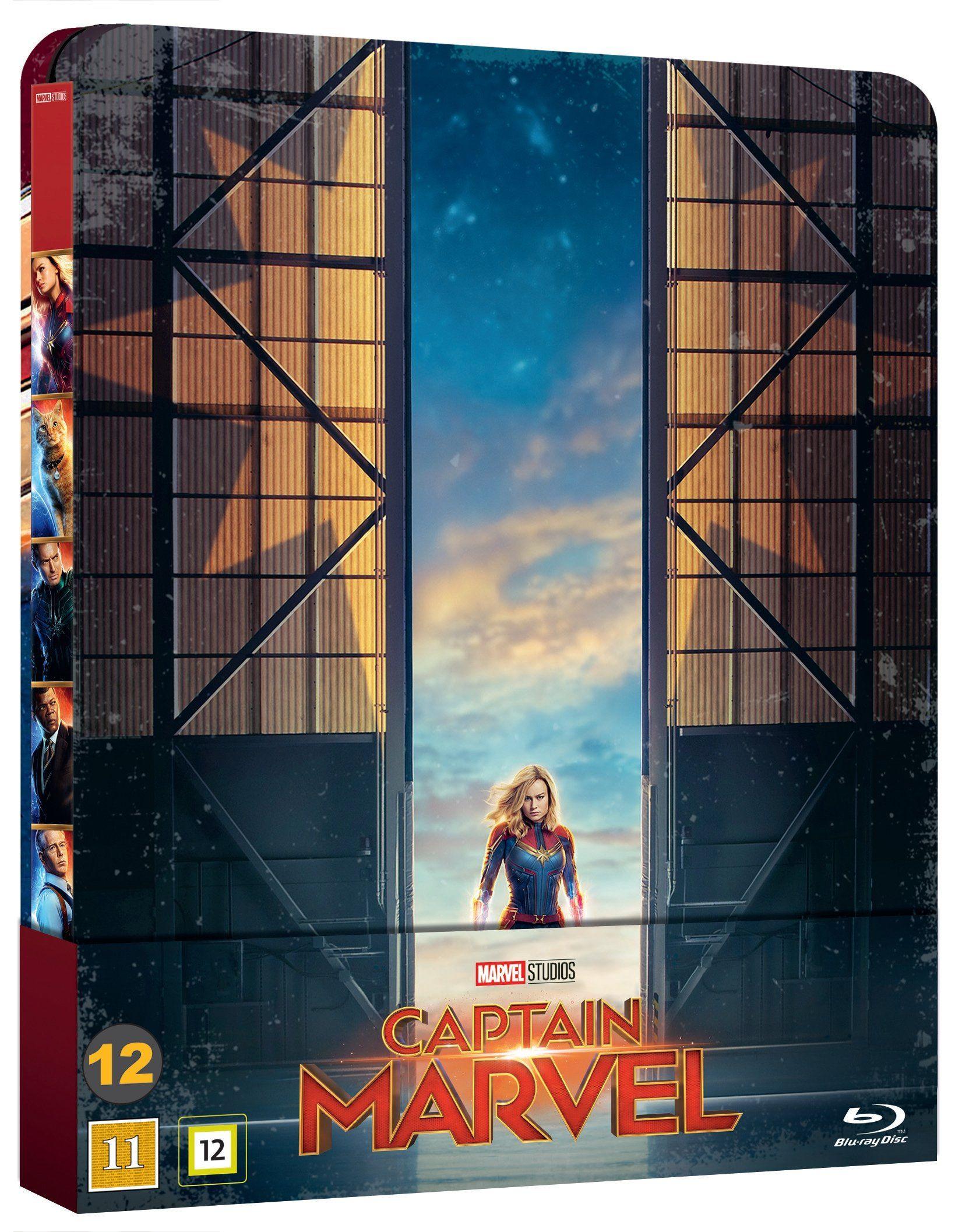 Captain Marvel - Bluray Steelbook [Danish Import] £10.06 @ Rarewares