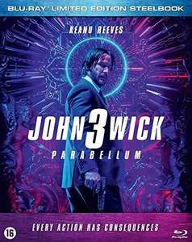 John Wick: Chapter 3 - Parabellum (Steelbook) - Blu-Ray £11.26 @ Rarewares