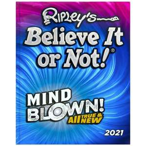 Ripley's Believe It or Not! 2021 / Guinness World Records 2021 £4.99 each (C&C) @ Smyths Toys