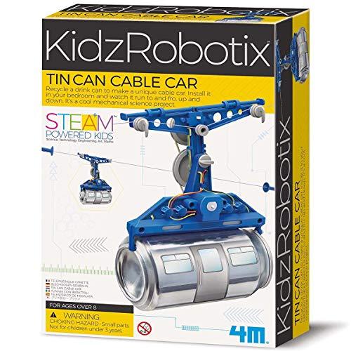 Tin Can Robot Cable Car - £7.10 (+£4.49 Non Prime) @ Amazon