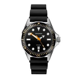 Sekonda sports watch with 200M water resistance for just £23.99 with code + Free Click and Collect / £1.99 Delivery at H Samuel