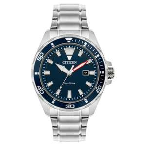 Citizen Eco-Drive Men's Stainless Steel Bracelet Watch (5 year warranty) £79.99 delivered with code @ H Samuel