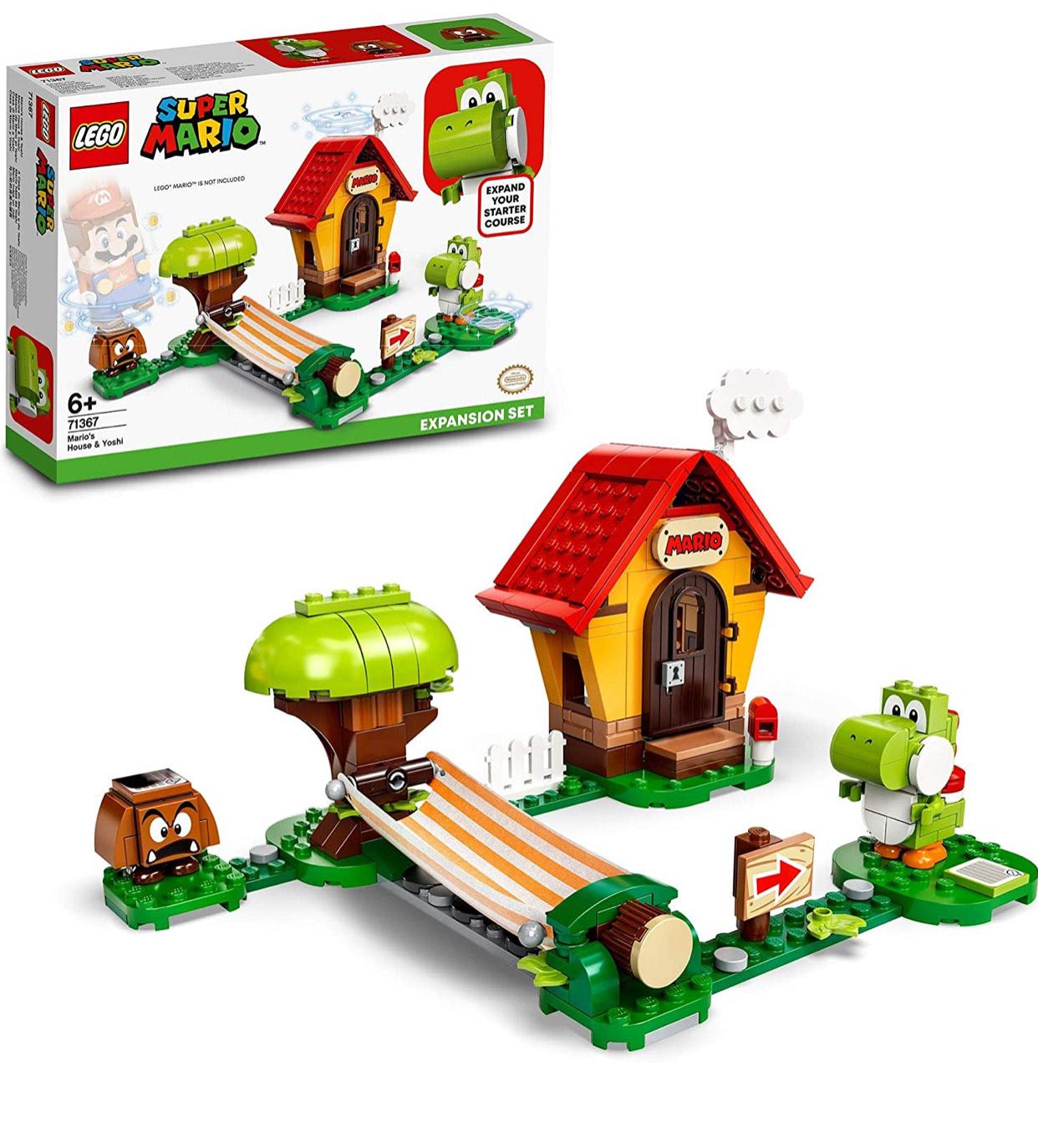 LEGO 71367 Super Mario House & Yoshi Expansion Set Buildable Game - £17.99 Prime / +£4.49 non Prime at Amazon