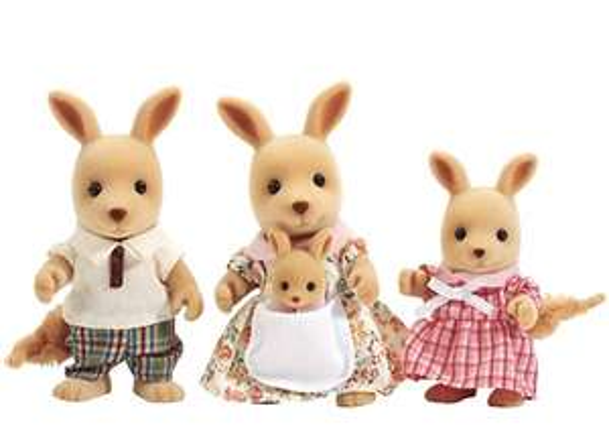 Sylvanian Families Kangaroo Family - £12.38 / Yellow Labrador Family - £10.36 each 4 piece Prime / +£4.49 non Prime @ Amazon