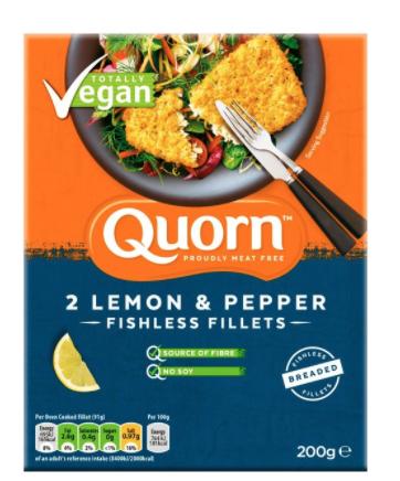 Quorn Vegan breaded fishless fillets 45p @ Morrison's Blyth