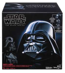 Hasbro Black Series Star Wars Darth Vader Electronic Replica Helmet - £94.99 + £1.99 Delivery (£77.98 new customers with code) @ Zavvi