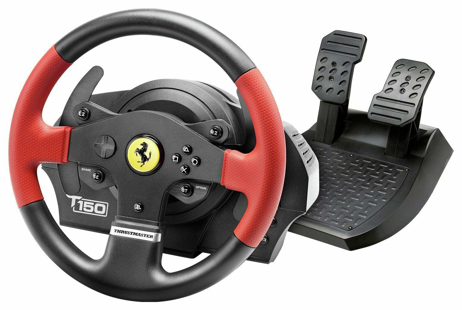 Thrustmaster T150 Ferrari Edition Racing Wheel for Sony Playstation PS3/4/5 - £124.99 delivered @ Argos / eBay