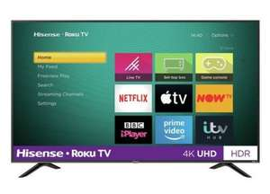 "Refurbished Hisense R43B7120UK 43"" SMART 4K Ultra HD HDR LED Roku TV Freeview Play (Renewed) - £229.99 delivered @ electrical=deals / eBay"