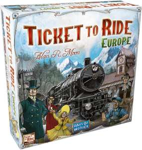 Days of Wonder | Ticket to Ride Europe Board Game - £17.94 Prime / +£4.49 non Prime @ Amazon