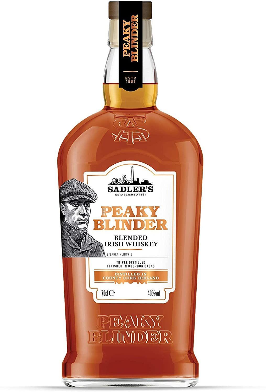 Sadler's Peaky Blinder Peaky Blinder Irish Whiskey, 70 cl - £15.99 Prime / +£4.49 non Prime @ Amazon
