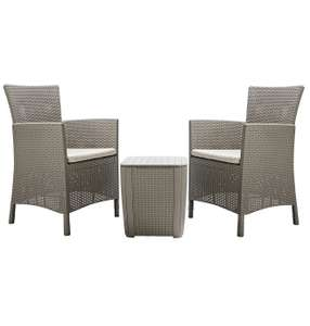Keter Iowa 2 Seater Rattan Effect Bistro Set - £120 instore @ Tesco, Bournemouth
