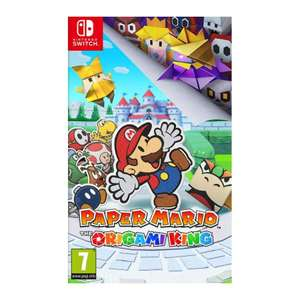 [Nintendo Switch] Paper Mario: The Origami King With Piranha Plant Keyring - £28.45 with code delivered @ The Game Collection
