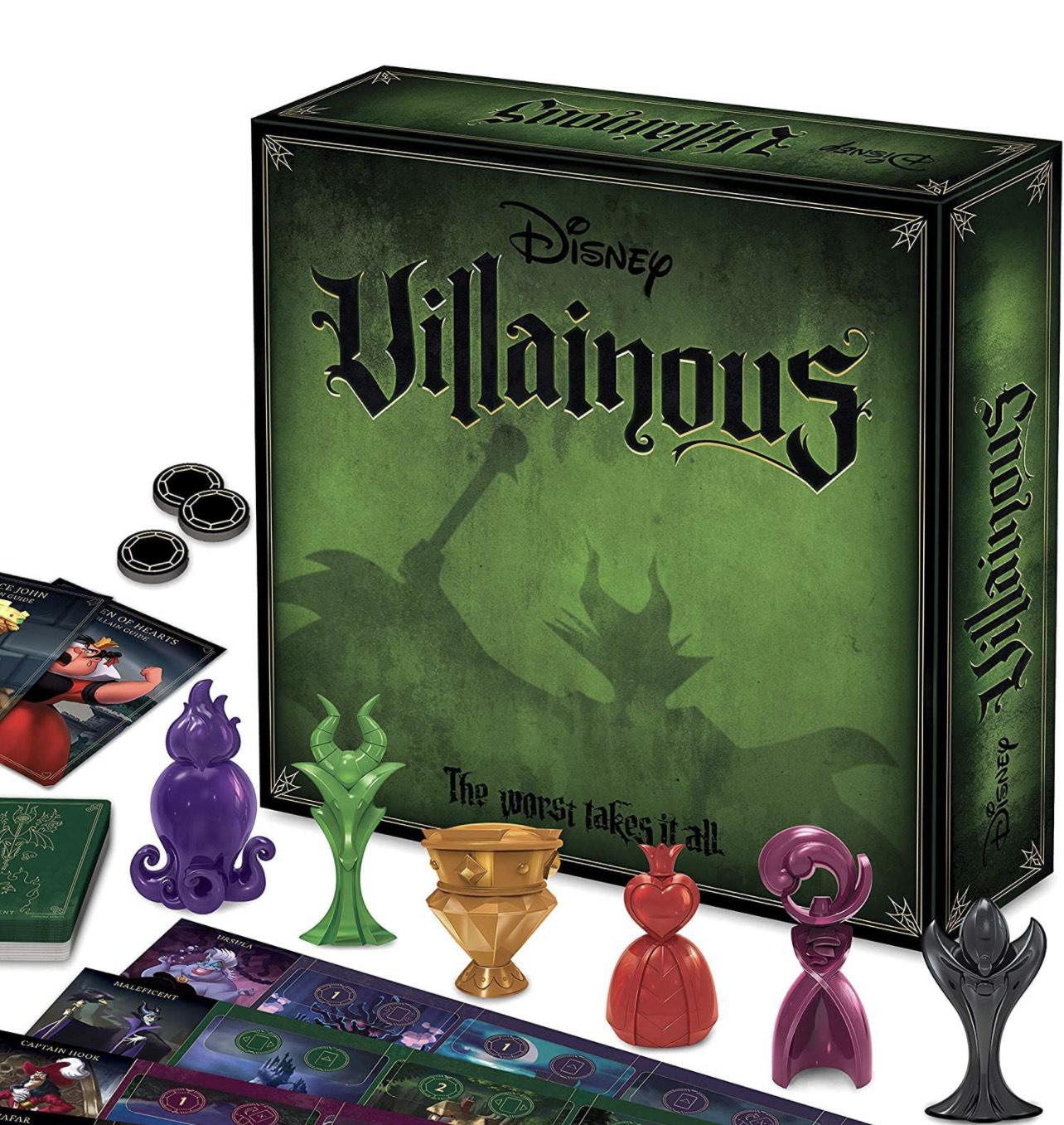 Ravensburger Disney Villainous - Expandable Strategy Game For Kids & Adults - £20.99 @ Amazon