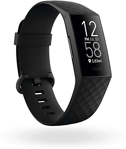 Fitbit Charge 4 - Activity Tracker Black Smartwatch - £80.98 (UK Mainland) @ Amazon EU