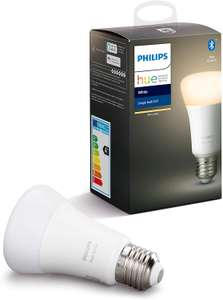 Philips Hue White Single Smart Bulb LED [E27 Edison Screw] (Used - Like New) - £4.89 Prime / +£4.49 non Prime @ Amazon Warehouse