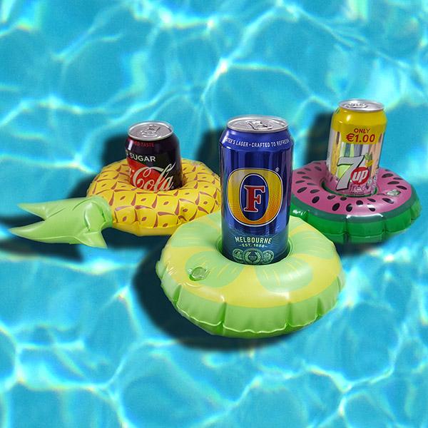 Set of 3 Blow Up Inflatable Fruit Floating Drinks Holders: £1 Delivered @ Yankee Bundles