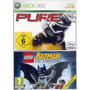 Used: Pure + Lego Batman Xbox 360 - Both Work On Xbox Series X - £2 + £1.95 delivery @ Cex