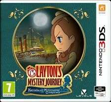 Layton's Mystery Journey Nintendo 3DS Game £12.99 free click & collect / £16.94 delivered @ Argos