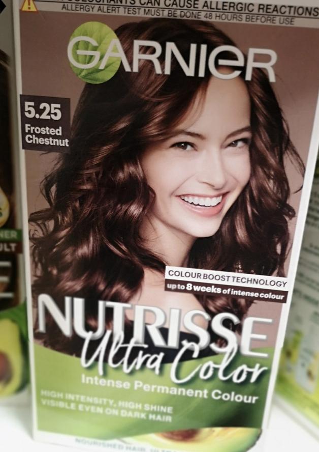 Garnier Nutrisse Ultra Colour Frosted Chestnut (5.25) - 60p instore at Asda (Bradford)