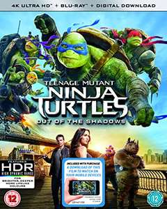 Teenage Mutant Ninja Turtles: Out Of The Shadows 4K UHD + Blu-ray (Used) - £3.23 delivered with code @ World of Books