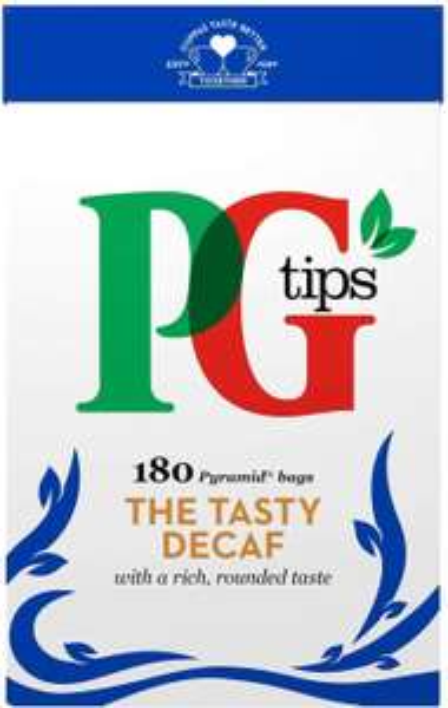PG tips Decaffeinated Tea Bags 180 teabags - £3.50 (+£4.49 Non-Prime) £2.98 S&S @ Amazon