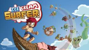 Ice Cream Surfer for Nintendo Switch (Couch Co-op Shmup) - £1.50 @ Nintendo eShop