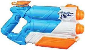 Nerf Super Soaker Twin Tide - Outdoor Use - 6+ Years - £7.50 Delivered @ Argos / eBay