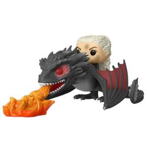 Daenerys and Fiery Drogon POP Rides Vinyl Figure 68 Funko Pop! £14.99 B & M (Hull)